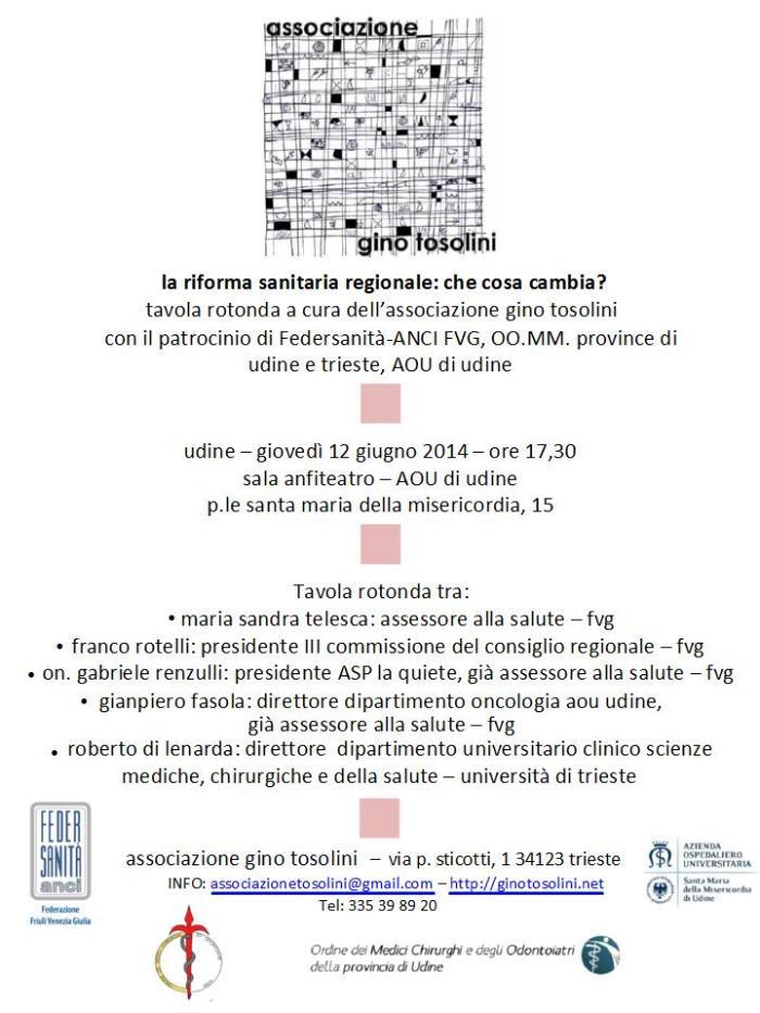 2014_06_12 Locandina Udine